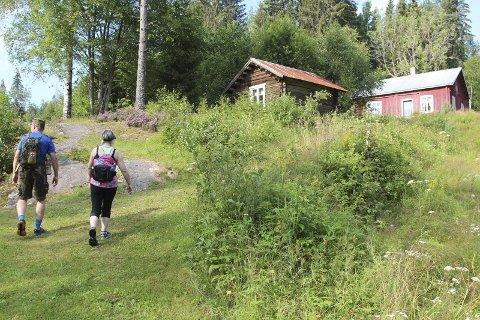 "Merethe og Una ""samler"" på fraflyttede hus til en mulig tv-serie. Her et illustrasjonsfoto fra en skogsheim langs Soot-kanalen i Eidskog."