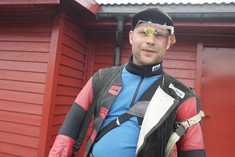 TREFFSIKKER: Simen Bredvold