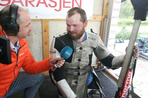 REDDET SEG INN: Daniel Sørli begynte Kongelag-kvalifiseringen dårlig, men reddet en plass i finalen onsdag etter en enorm avslutning.