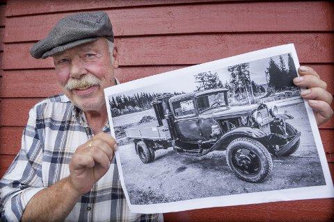 KNOTTEN: Nå har det gått 40 år siden Arne Øverby og generatorbilen Knotten var med på Glåmdalens sommerferd rundt om i distriktet i 1979.