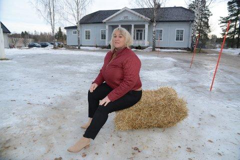 BLIR VINTERFEST: – Uansett vær og føre så blir det vinterfest, men dessverre ingen snøskulpturer her i år, sier kultursjef Cathrine Hagen.