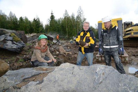SPENNENDE: Bedriften GeoTrade vil satse på steinindustri på Hof Finnskog og har fått kommunale midler til videre undersøkelser av lønnsomheten.