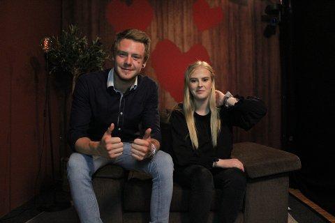 DATET PÅ TV: Tom-Erik Eriksen fra Skarnes datet Mathilde (21) på TV. Selv om det ble rolig etter daten, syntes han at det var gøy å delta.