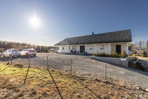 PRISREKORD: Med en salgssum på 7.650.000 kroner er dette den dyreste boligen som er solgt i Aurskog.