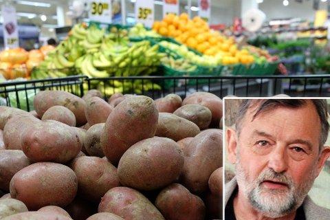 VIL OPPLYSE: Ole Martin Rønning er ikke så sikker på folk vet hvor giftig potet kan være. På dette illustrasjonsbildet er det avbildet friske poteter. Foto: Kim Gaare / Trond Ivar Lunga