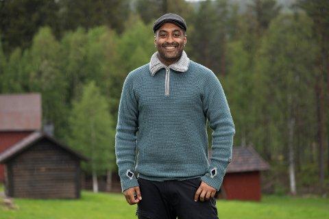 GA ALT: Tommy Sharif forteller at han ga alt i Farmen Kjendis, selv om han ikke følte seg kjendis nok og savnet de kulinariske gleder fra det frie livet på utsiden av gården.