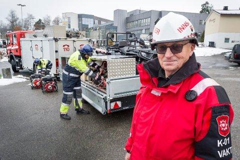 TILTAK: Brannvesenet har innført strenge tiltak som følge av korona-pandemien. Brannsjef Per Ivar Bekk gjør alt for å holde brannmannskapene friske og opprettholde normal beredskap.