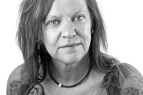 Kari Gjerstadberget, journalist i Glåmdalen. FOTO: JENS HAUGEN