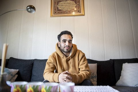 Ali Al-Easawie (22) lider av en kronisk nyresykdom som gjør at det kan være farlig for ham å bli smittet av koronavirus.