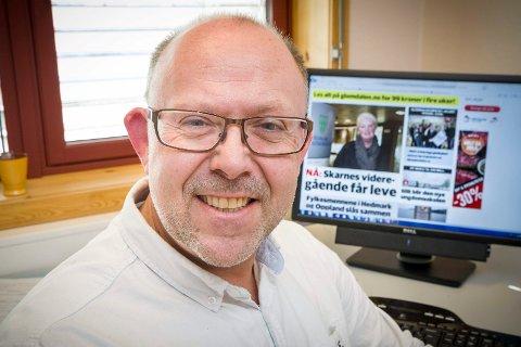 PÅ TOPPEN: Assisterende rektor Njål S. Føsker.