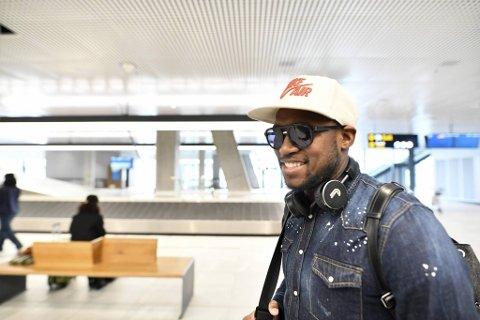 Ali Ahamada ankom Bergen lørdag ettermiddag.
