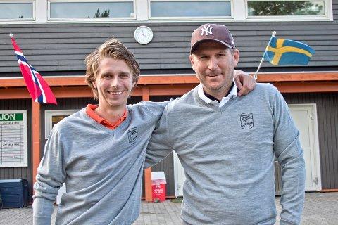 Lagkameratene Thomas Haugerud og Marcus Lundén gjorde det utenkelige under lag NM forrige helg.