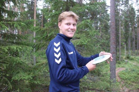 TALENT: 16 år gamle Evald Øwre er en av fire kandidater til Glåmdalens pris «Årets sportstalent».