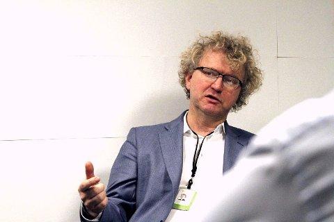 KRITISK: Jan Ludvig Andreassen, samfunnsøkonom og sjeføkonom i Eika Gruppen. Foto: Trond Lepperød (Nettavisen)