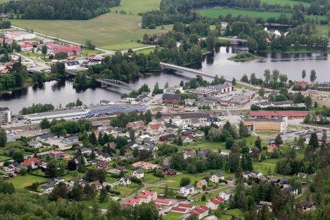 ET STED SOM VOKSER: Skarnes vokser, her i Sør-Odal bor også distriktets yngste befolkning, ifølge SSB. Kommunen vil vinne nye innbyggere på grunn av sentral beliggenhet i forhold til pressområdene rundt Oslo.