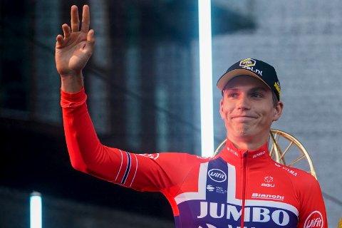 TIL FRANKRIKE: Amund Grøndahl Jansen får sjansen til å sykle Tour de France for tredje året på rad.