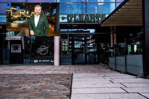 VIL TIL KONGSVINGER: Restaurantkjeden O'Learys ønsker å etablere seg i Kongsvinger. Det bekrefter administrende direktør, Kenneth Lorentzen (innfelt). Foto: Sarpsborg Abeiderblad/O'Learys
