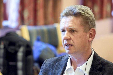 TOPPLEDER: Tittelen som rådmann forsvinner, og Frank Hauge blir Løtens første kommunedirektør.