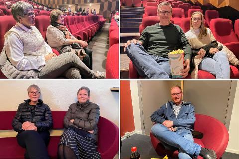 """Flere tok turen til Rådhus-Teateret i Kongsvinger da """"Nilsi"""" (Nils-Ingar Aadne) kom og underhodt med litt latter, lørdag kveld."""