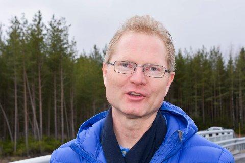 Fornøyd: Tor Andre Johnsen, Frp.