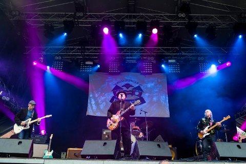LIVE: Under Festningskonserten 2015 spilte Heart of Mary live. Bandets uutgitte andrealbum kommer nå ut på LP etter et voldsomt folkeengasjement. Her ses Anders Bøhnsdalen (gitar), Denis Kamphaug (vokal og gitar) Kai Olav Tønnessen (trommer) og Levi Henriksen (bass) for seks år siden.