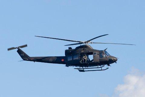 BELL-412: Helikopter av denne typen vil du se flyvende over Kongsvinger i tiden som kommer.