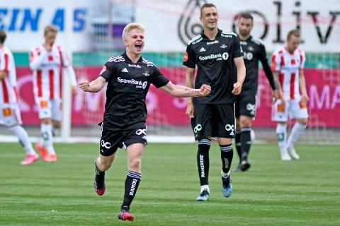 ORKLA: Edvard Tagseth og de andre Rosenborg-spillerne møter Orkla i andre runde av cupen.