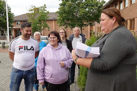 AVVISES: Innstillingen er å avvise innbyggerforslaget, som Tommy Kornstad og Beate Hanssen leverte til ordfører Kari Heggelund 13. august. Mandag skal saken opp i kommunestyret i Åsnes.