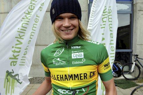 Terrengsyklist Petter Fagerhaug er klar for EM i Sverige. Med seg til Sverige får han også fire Lillehammer CK-ryttere på rekruttlaget.