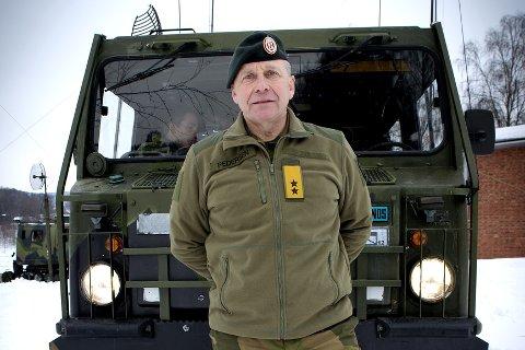 Søker NATO-stilling:    Cyber-sjef Odd Egil Pedersen.