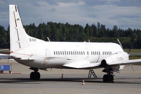 Det var et fly av denne typen, British Aerospace ATP som fikk problemer over Gudbrandsdalen i fjor høst.