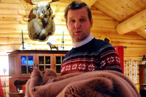 FÅR ERSTATNING: Pelsdyroppdretter Odd Arne Myromslien på Kvam