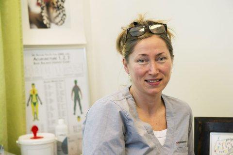 Akupunktør Elisabeth Kongsrud.