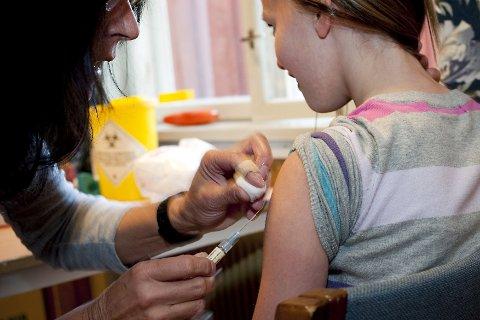 Meslinger er en veldig smittsom sykdom, men siden meslingvaksinen ble introdusert i 1969 har det nesten ikke vært noen tilfeller i Norge. Foto: GD