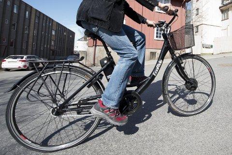 VIL SATSE På SYKKEL: Ringebu kommune ønsker i første omgang å kjøpe inn seks el‐sykler totalt, tre i Fåvang og tre i Ringebu. Kommunen ønsker også å bygge sykkelhotell.