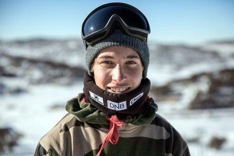 FREESKI: Marcus Kleveland fra Dombås sesongdebuterte med en andreplass.