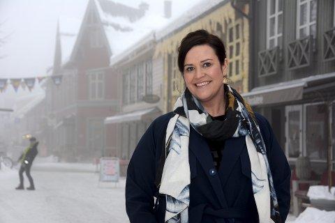 Camilla Solberg Oen, innehaver av Folk & røvere på Lillehammer