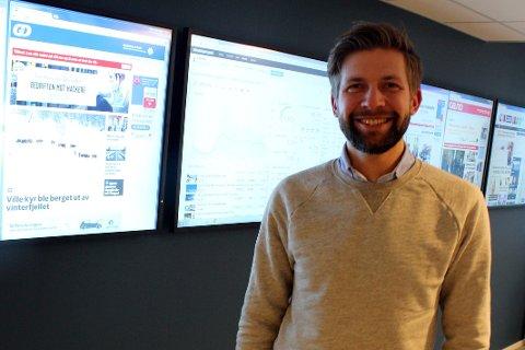 STOLT: Espen Stensvold Rønning, forretningsutvikler i GD, er fornøyd med støtten fra Google.