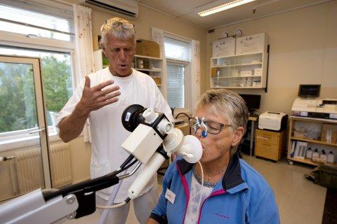 Granheim Lungesykehus tilbyr spesialisert lungerehabilitering. Arkivfoto: Torbjørn Olsen