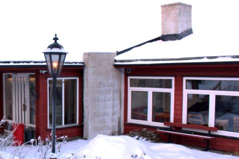 Per Gynt Lodge i Ruste i Vinstra har drevet asylmottak tidligere.