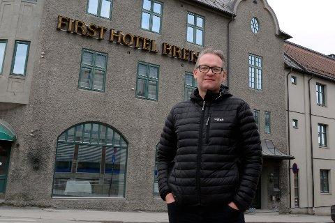 NY JOBB: Tom Erik Hovde forlater lederjobben i Gyro Conference i Lillehammer for å ta over direktørjobben i Hamar Olympiske Anlegg.