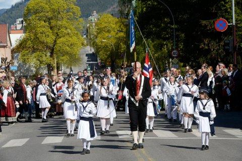 SKOLEKORPSMODELL: Flere bør følge modellen fra Lillehammer med lærere fra kulturskolen som kommer inn i musikkundervisningen i småklassene, skriver innsenderen. Bildet viser Hammartun skolekorps i 2017.