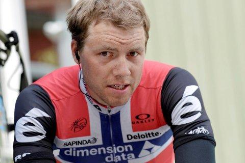 Edvald Boasson Hagen nådde ikke helt opp å onsdagens etappe.