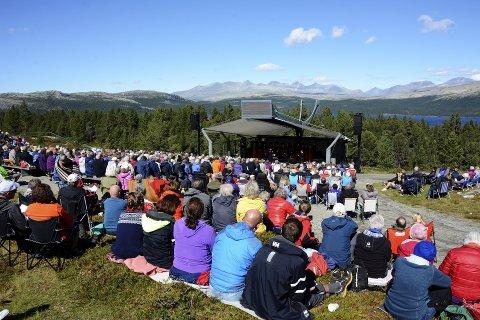 PEER GYNT STEVNET: 12. august er det duket for en ny konsertopplevelse på Kvamsfjellet. Her et bilde fra konserten for to år siden.