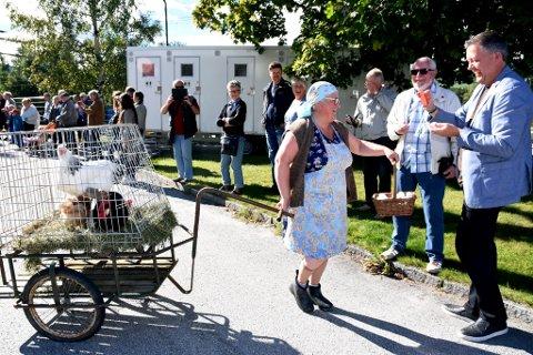 BYFEST PÅ VINSTRA: Kristin Grøthe skal for første gang bli folkevalgt i Nord-Fron. Hun vil invitere til innsats for et godt oppvekstmiljø for alle i kommunen. Bildet er hentet fra en tidligere byfest på Vinstra.