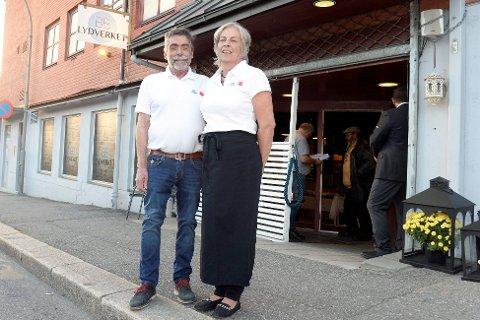 Per Arne Engebretsen og Mette Elvland er eiere av BB Lydverket, som for første gang åpnet dørene for et publikum 13. september.