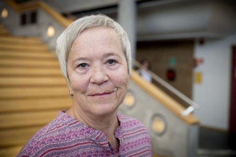 Rektor Kathrine Skretting sier det er en fordel at det nåværende høgskolestyret blir sittende da de er midt inne i søknadsprosessen til å oppnå universitetsstatus.