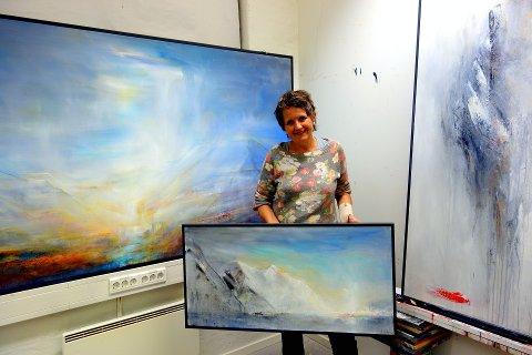 HØSTUTSTILLING: Lillehammerkunstneren Eva Willix inviterer på nytt til kunstutstilling på Pellestova.