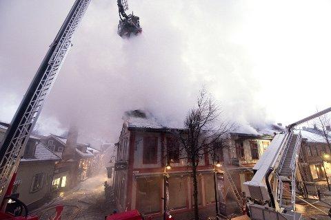 Brann i Storgata 81.