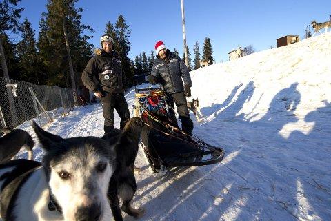 GAMLE KJENTE: Thomas Wærner og Lance Mackey har kjent hverandre siden 2010. Wærner er tidligere vinner av Finnmarksløpet og ble «Beste Nybegynner» i Iditarod i 2015.